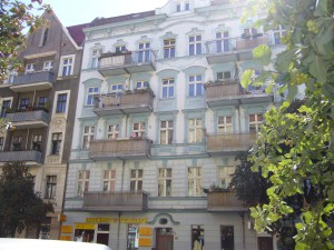 Mietshaus in Berlin-Prenzlauer Berg